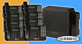 Summit 4 X 8 System with 8) 30 Button Phones and Voice Mail
